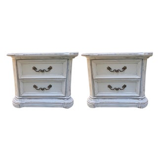 Stanley Shabby Chic Nightstands - A Pair