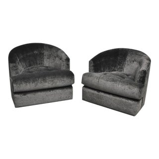 Milo Baughman Swivel Chairs for Directional