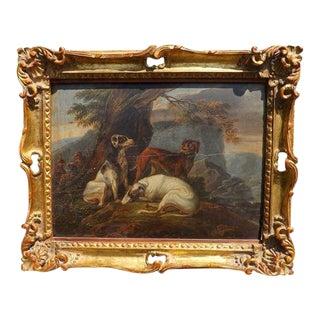 17th Century Dog Painting