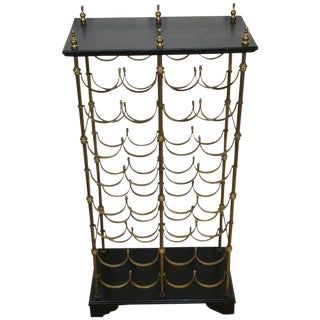 Maison Jansen 32 Bottle Wine Rack