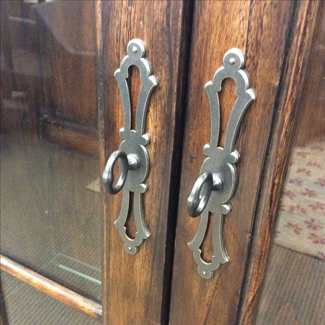Four Door Glass Curio Cabinet - Image 3 of 7
