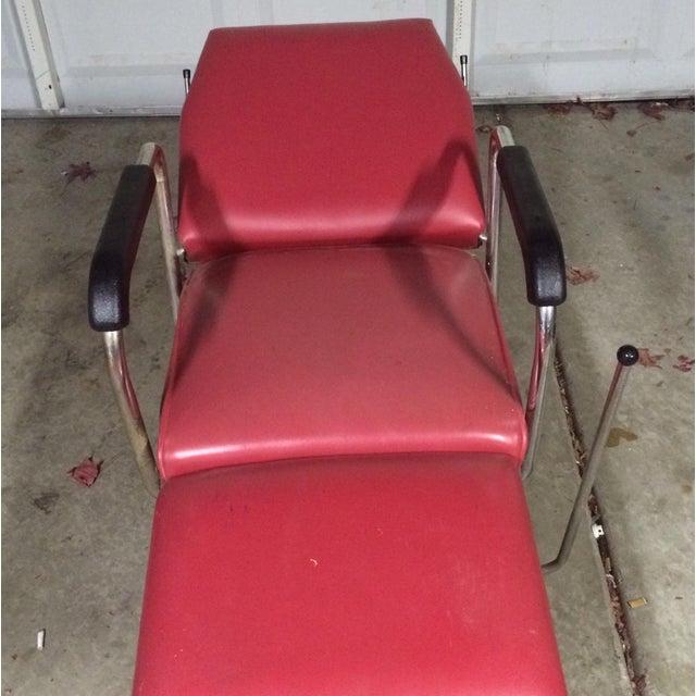 Vintage Reclining Salon Shampoo Chair - Image 6 of 7