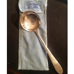 Image of Vintage 1960s Cartier Sterling Silver Ladle Spoon