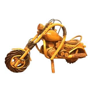 Wooden Motorcycle Model