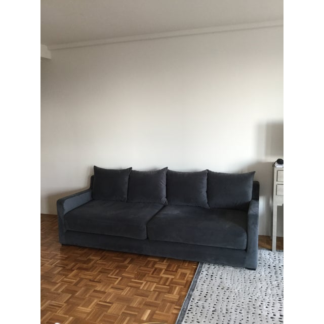 Gus* Modern Flipside Velvet Sofa - Image 2 of 10