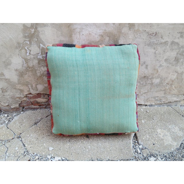Floor Pillows Moroccan : Vintage Striped Moroccan Floor Pillow Chairish