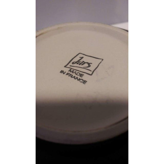 Jars France Samoa Vert Green Glazed Pottery Bowl - Image 8 of 8