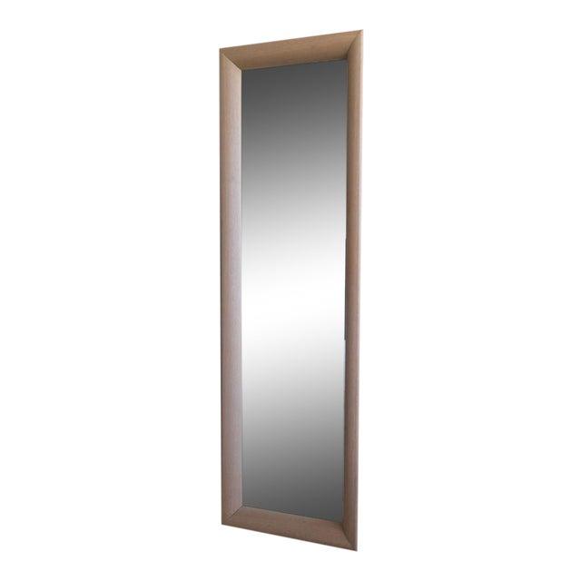 Ligne Roset Floor Standing Oak Frame Mirror - Image 1 of 9