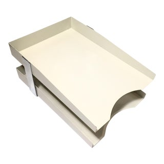 Industrial Metal Desk Tray