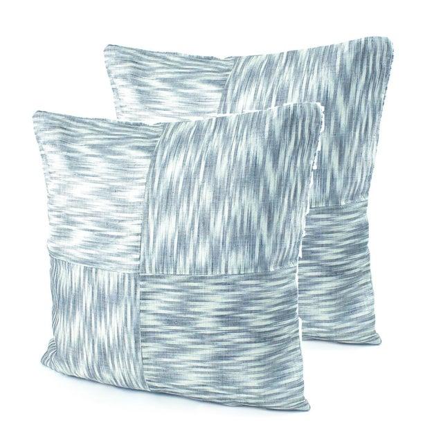 Ikat Hinabol Pillows - Pair - Image 1 of 2