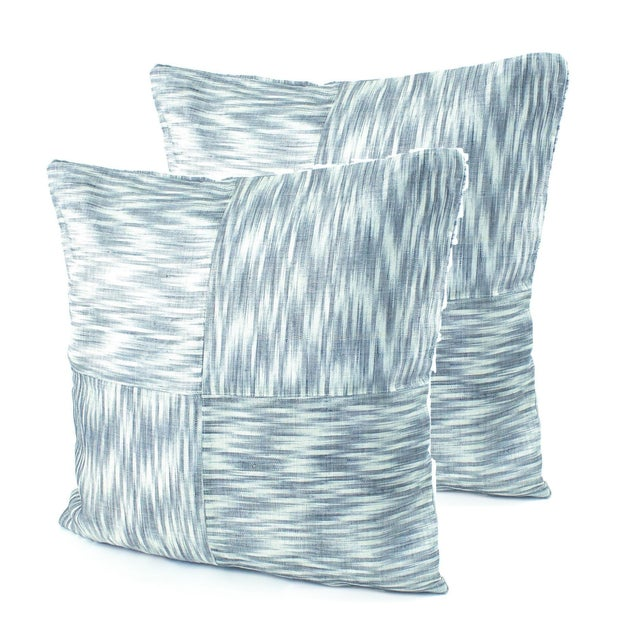 Image of Ikat Hinabol Pillows - Pair