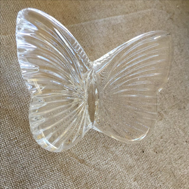 Vintage Crystal Butterfly - Image 7 of 11