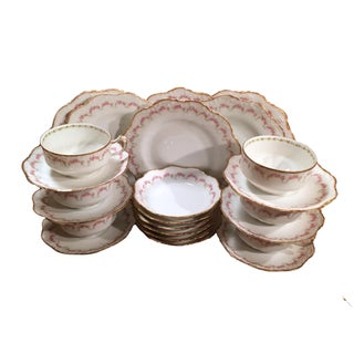 Limoges Luncheon Set Service - Set of 6