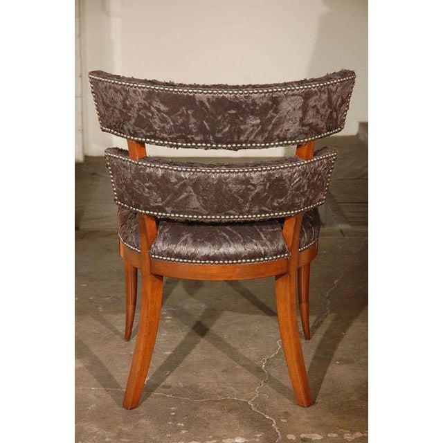 Paul Marra Klismos Style Chair - Image 7 of 8