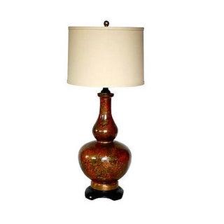 Hollywood Regency Ceramic Glazed Lamp