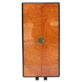 Burl Cocktail Cabinet
