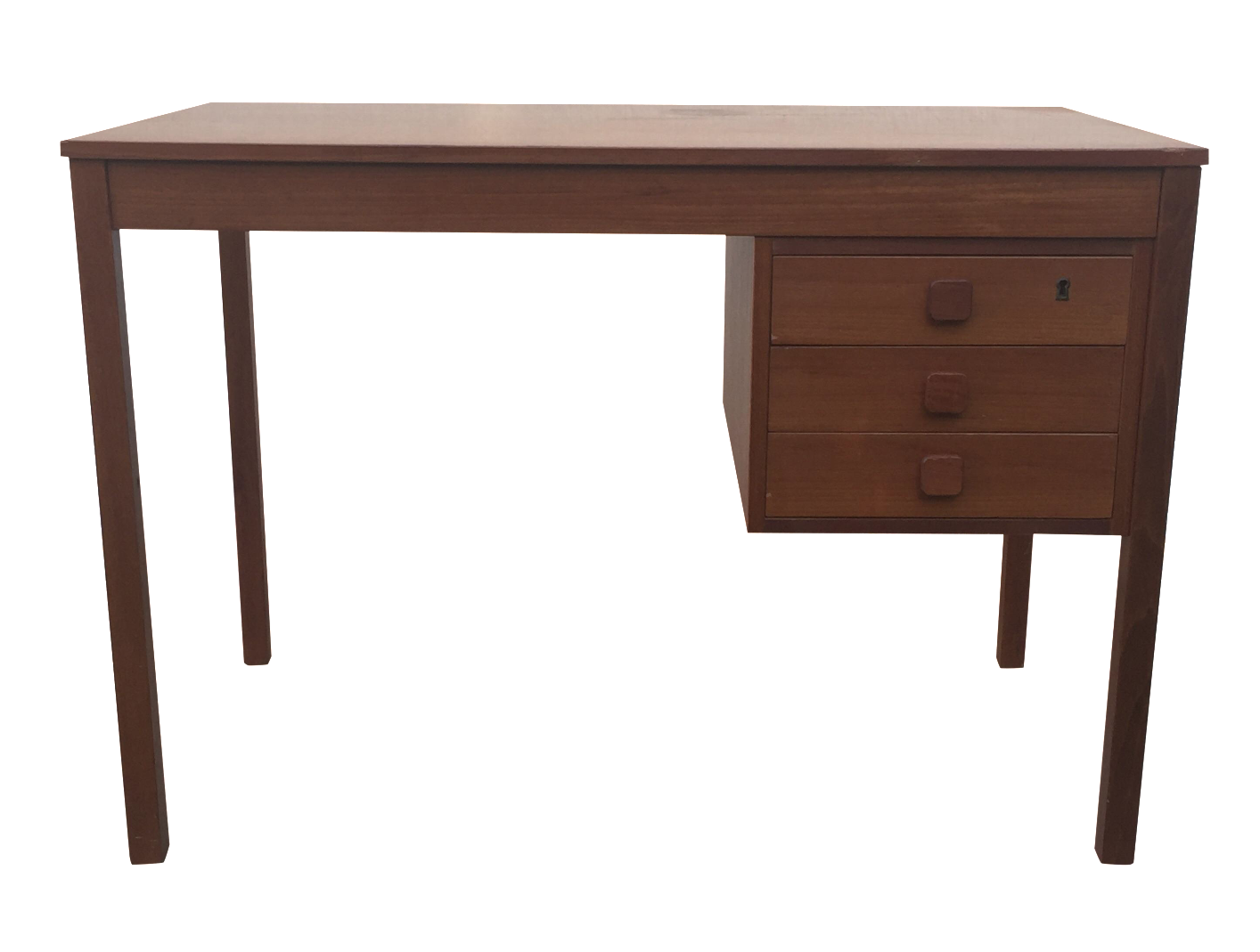 Mid Century Danish Modern Teak Desk Chairish