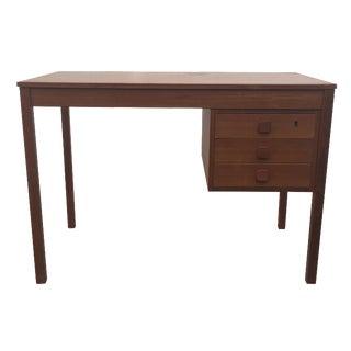 Mid-Century Danish Modern Teak Desk