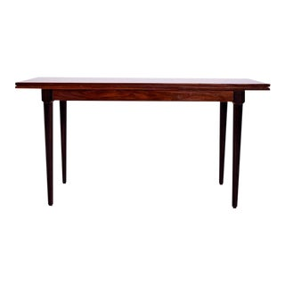 Rosewood & Macassar Console Dining Table