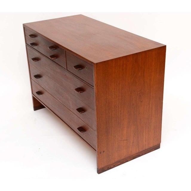 Image of Stellar Hans Wegner Teak Dresser for Ry Mobler/George Tanier