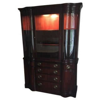 Drexel Mahogany Meriden Collection China Cabinet