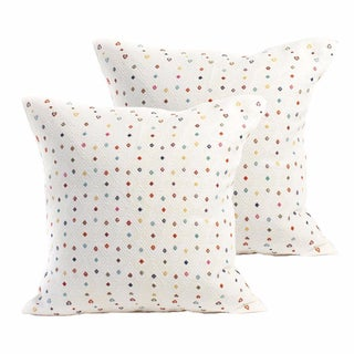 San Cristobal Brocade Pillow Covers - a Pair