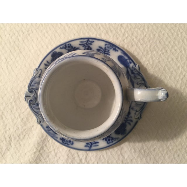 Villeroy & Boch Blue & White Cup & Saucer - A Pair - Image 4 of 7
