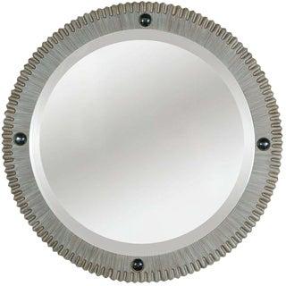 Customizable Paul Marra Gear Style Mirror in Strie Finish