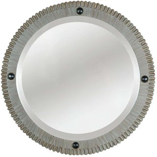 Paul Marra Gear Style Mirror in Strie Finish