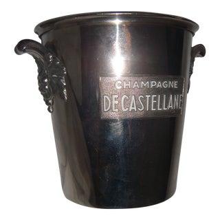 Champagne De Castellane French Ice Bucket