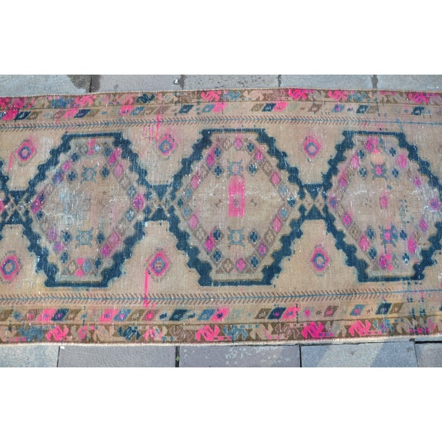 Antique Persian Runner Rug - 3′2″ × 9′11″ - Image 6 of 6