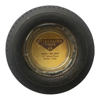 Vintage Tire Ashtray, Bristol Ct