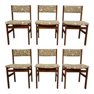 Spøtrrup Danish Teak Dining Chairs- Set of 6