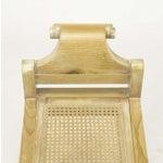 Image of Pair Swedish Rococo Style White Glazed Pine Benches