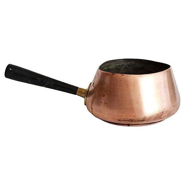 Image of Antique Copper Sugar Pot