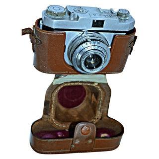 Vintage Kalimar Camera With Leather Case