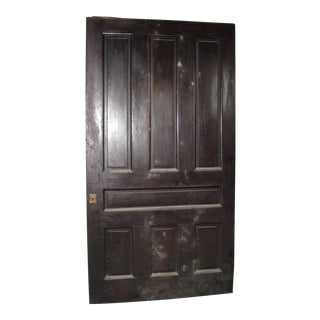 Reclaimed 1888 Victorian Pocket Door