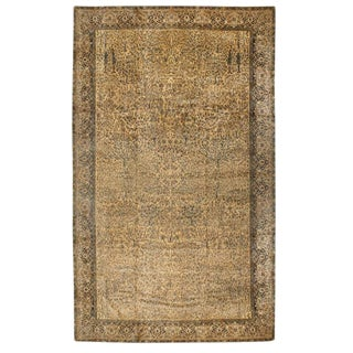 Antique Oversize Turkish Hereke Carpet