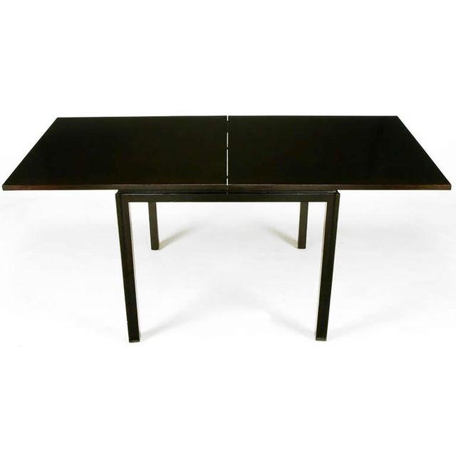 Image of Edward Wormley #2299 Ebonized Walnut Flip-Top Game Table