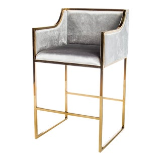Erin Gold Bar Chair