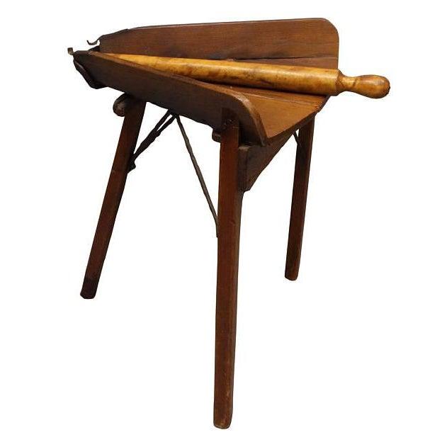 Antique Primitive Dough Rolling Table - Image 2 of 5