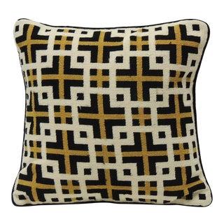 Jonathan Adler Black & White Tapestry Pillow