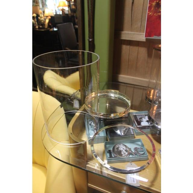 Ralph Lauren Silver Hurricane Lanterns - Set of 3 - Image 7 of 10