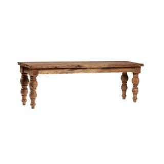 Vintage Rustic Teak Bench
