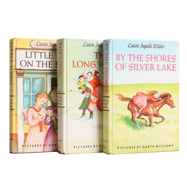 Laura Ingalls Wilder Book Stack - S/5 - Image 2 of 2