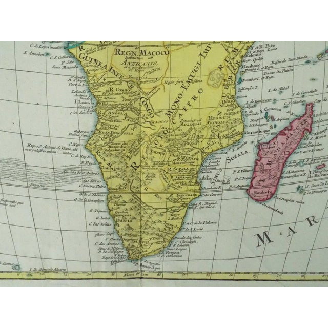 1778 Africa Map by Lotter - Image 4 of 10