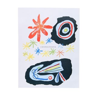"""Joan Miro """"Confections"""" Offset Lithograph"""