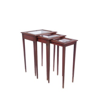 Asian Style Nesting Tables - Set of 3