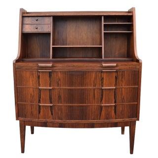 Vintage Danish Modern Rosewood Secretary Dresser