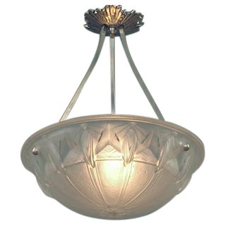 A Geometric French Lighting Bowl, Muller-esque!